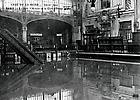 La Crue de la Seine La salle d'Attente de la Gare d'Orsay