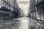 La Crue de la Seine La Rue Saint Dominique