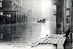 La Crue de la Seine La Rue Saint André des Arts