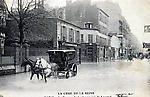 La Crue de la Seine La Rue Lourme Le Passage du Boulanger