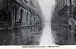 La Crue de la Seine La Rue de Lille