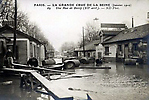 La Crue de la Seine La Rue de Bercy