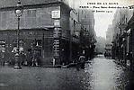 La Crue de la Seine La Place saint André Des Arts