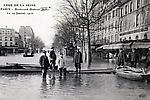 La Crue de la Seine Boulevard Diderot