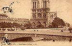 Paris  Cathédrale Notre-Dame