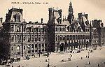 Paris  L'Hôtel de Ville