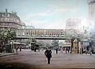 Boulevard Barbès le métro aérien