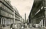 Rue de Castiglione et la Colonne Vendôme
