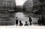 Gare Saint Lazare innondations
