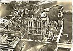 Notre-Dame, vue aérienne