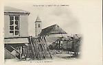 Eglise du BOURGET, apr�s les �v�nements de la commune