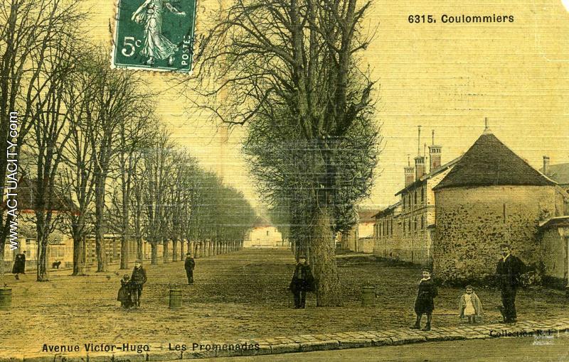 Cartes postales anciennes de coulommiers 77120 actuacity - Le notre avenue victor hugo ...
