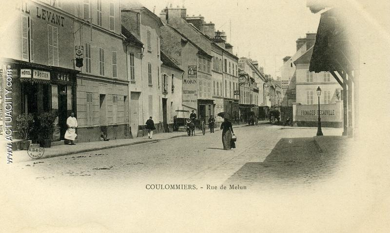 Cartes postales anciennes de coulommiers 77120 actuacity for Location garage coulommiers