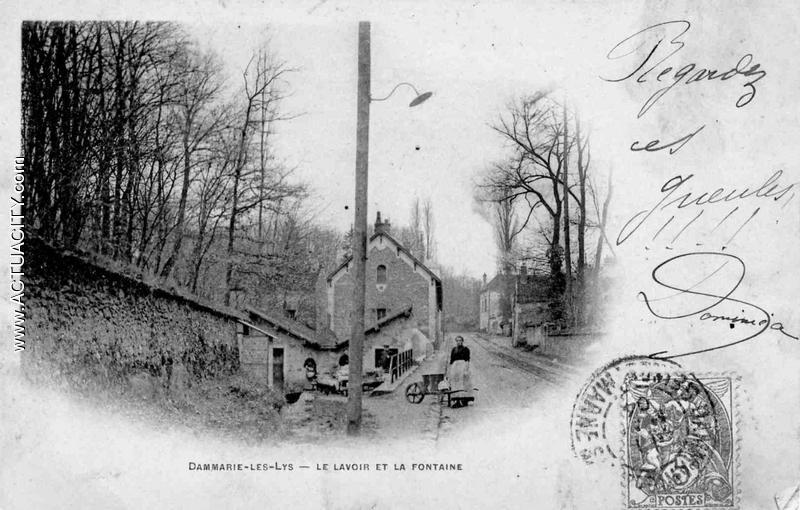 cartes postales anciennes de dammarie