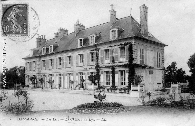 Cartes postales anciennes de dammarie les lys 77190 actuacity - Chateau de dammarie les lys ...