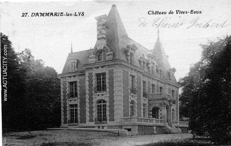 Cartes postales anciennes de dammarie les lys 77190 actuacity - Chateau de la star academy ...