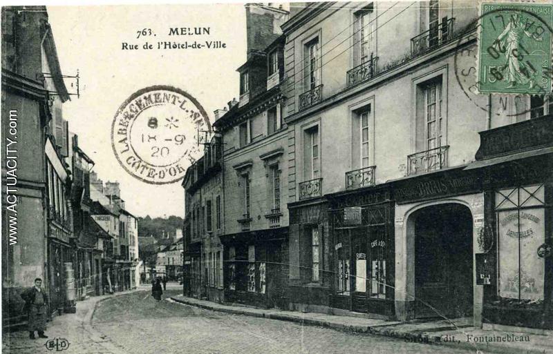 Cartes Postales Anciennes De Melun  77000