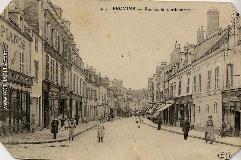 Cartes postales anciennes de provins 77160 actuacity for Garage auto provins