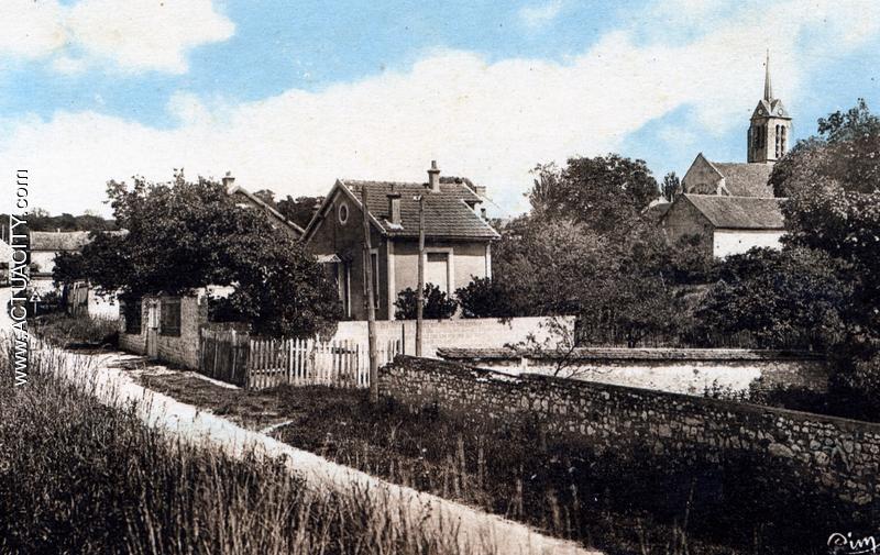 Cartes postales anciennes de vernou la celle sur seine for 77 rue de la maison blanche reims