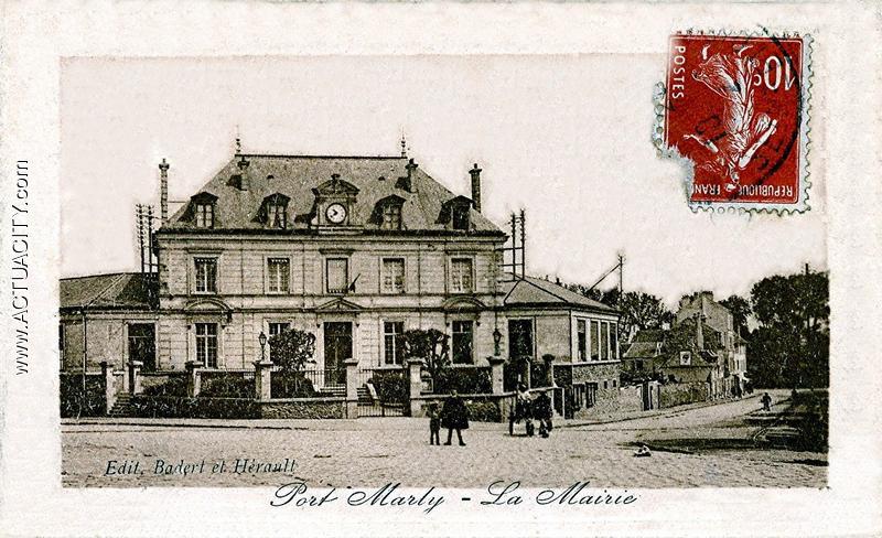 cartes postales anciennes du port marly 78560 actuacity