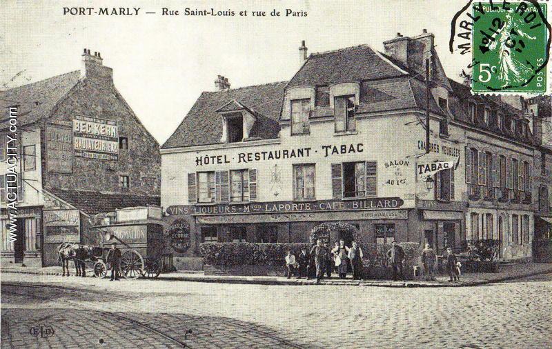 Cartes Postales Anciennes Du Port-marly  78560