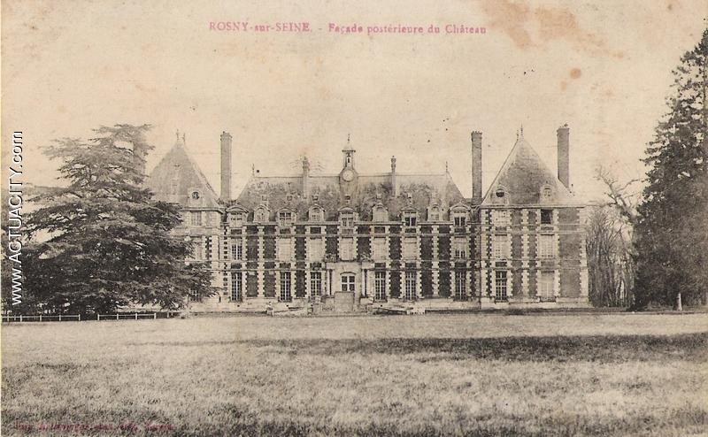 Façade Postérieur du Château