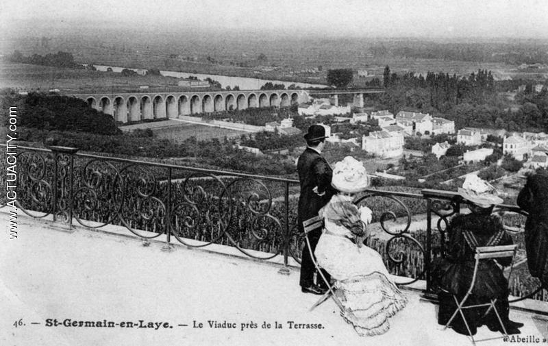 Cartes postales anciennes de saint germain en laye 78100 actuacity - La poste st germain en laye ...