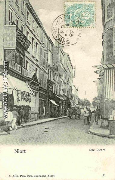 Niort - Rue Ricard