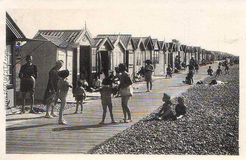 Cartes postales anciennes de cayeux sur mer 80410 for Garage cayeux sur mer