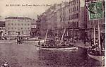 Les canots majors et le quai