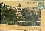 Gare - Monument des Tués à l'ennemi 1870-1871 - colorisée