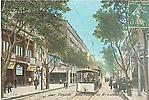 Bd de Strasbourg - tramway - animée et colorée