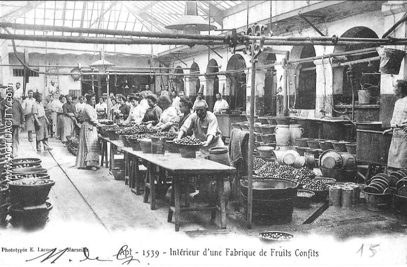 Cartes postales anciennes d 39 apt 84400 actuacity for Interieur usine