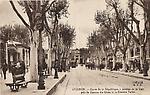 Avignon Cours de la République avenue de la Gare près de la Caserne du Génie et lz cinéma Pathé