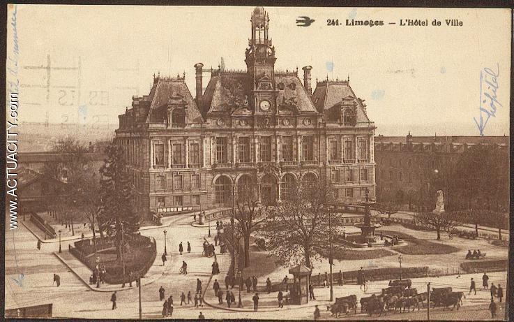 La Poste Hotel De Ville Limoges