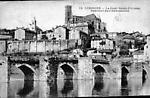 la cathedrale et le pont saint Etienne
