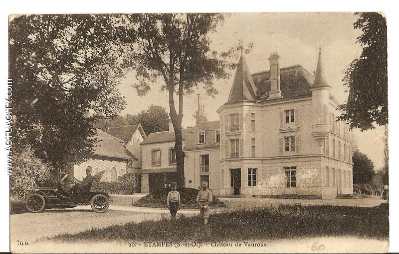 Cartes postales anciennes d 39 tampes 91150 actuacity for Chateau etampes