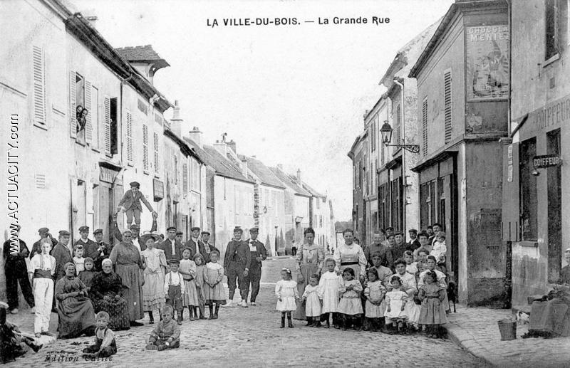 Cartes postales anciennes de la VilleduBois (91620  ~ Pharmacie La Ville Du Bois