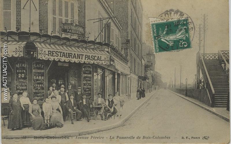 Cartes postales anciennes de Bois Colombes (92270) Actuacity # Fleuriste Bois Colombes