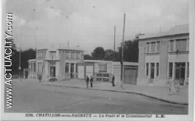Cartes postales anciennes de ch tillon 92320 actuacity - Bureau de poste chatillon ...