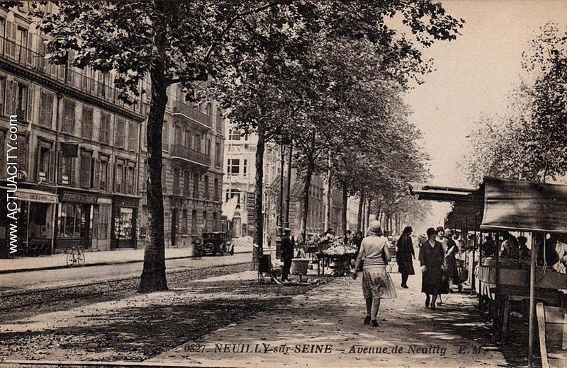 Cartes postales anciennes de neuilly sur seine 92200 actuacity - Station autolib neuilly sur seine ...
