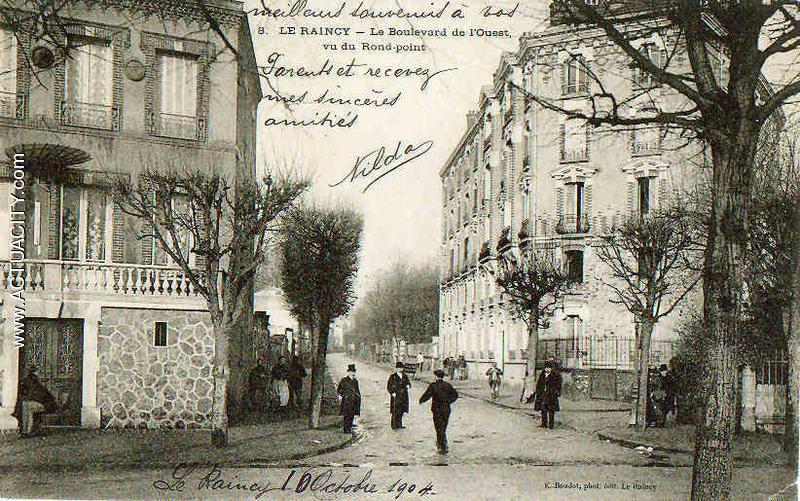 Cartes postales anciennes du raincy 93340 actuacity for Garage de l eglise le raincy