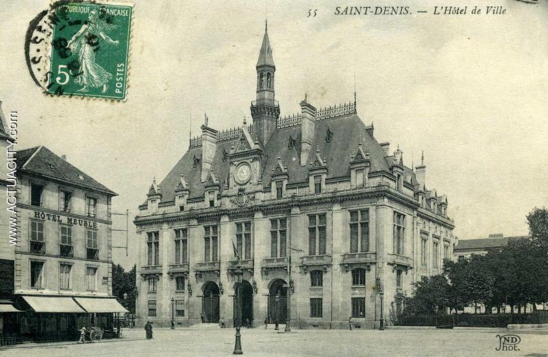 Cartes Postales Anciennes De Saint-denis  93200