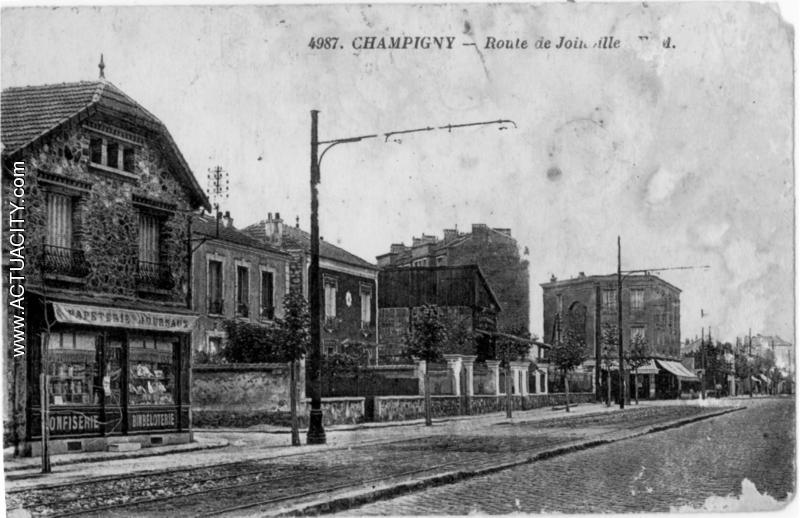 Cartes postales anciennes de champigny sur marne 94500 - Son et video champigny sur marne ...