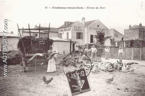 Cartes postales anciennes de fontenay sous bois 94120 for Garage auto montfermeil