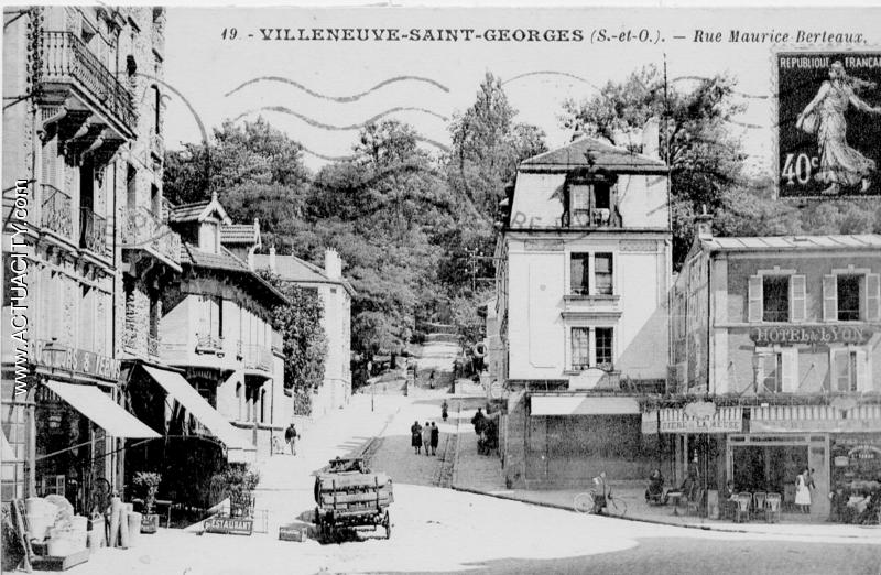 cartes postales anciennes de villeneuve saint georges 94190 actuacity. Black Bedroom Furniture Sets. Home Design Ideas
