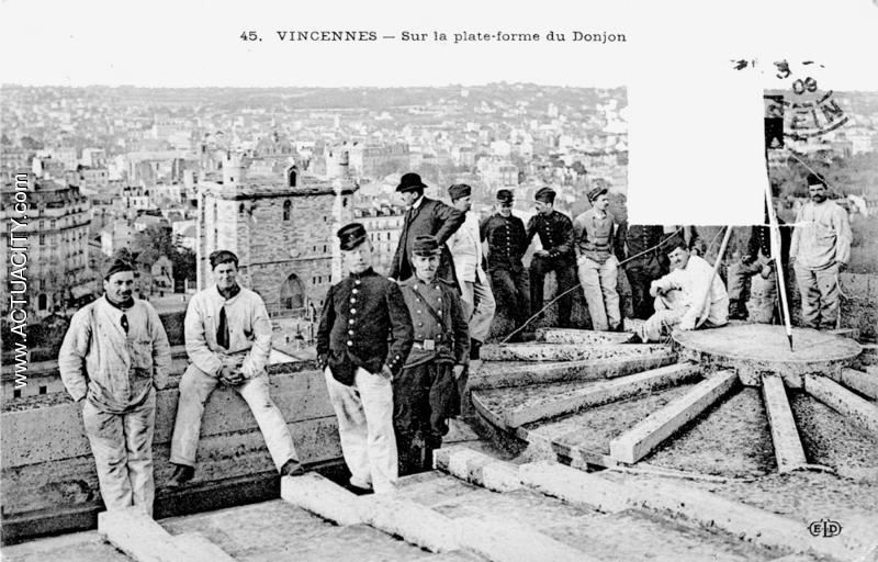 Cartes postales anciennes de vincennes 94300 actuacity - Bureau de poste vincennes ...