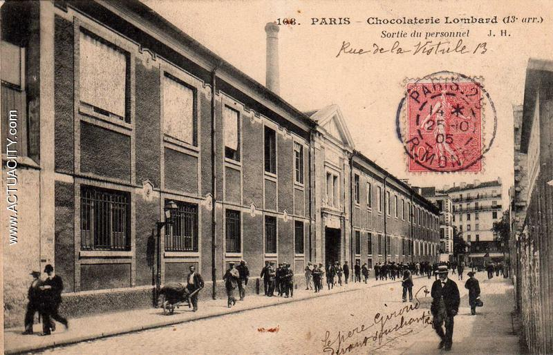 Cartes postales anciennes de paris 13e arrondissement for Bureau de change 13 arrondissement