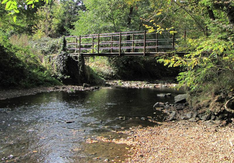 pont sur l'Aurence