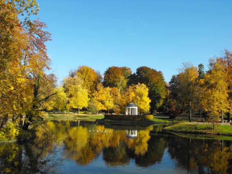 Le parc de l`orangerie